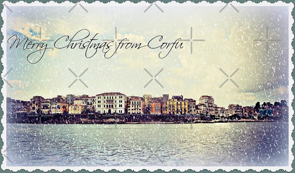 Happy Christmas from Corfu ... Greece by fruitcake