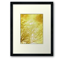 We could still reach it Framed Print