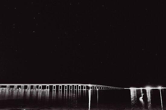 Navarre Beach Causeway by Carina Potts