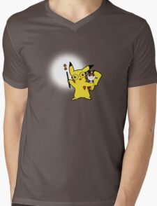 Potterchu Mens V-Neck T-Shirt