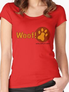 Woof! Women's Fitted Scoop T-Shirt