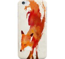 mr Fox Watercolor iPhone Case/Skin