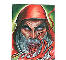 Red Wizard Photographic Print
