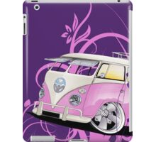 Splitty Floral Purple iPad Case/Skin