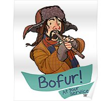 Bofur at Your Service Poster