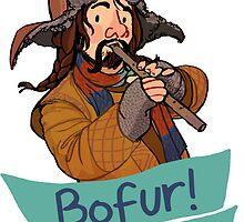 Bofur at Your Service by HattieHedgehog