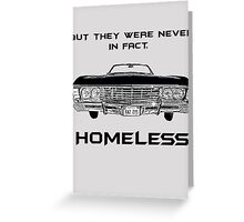 Baby is Home Greeting Card