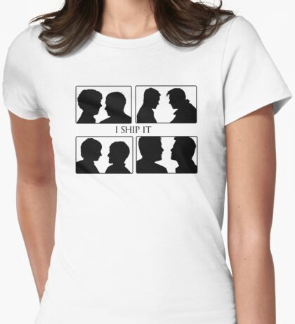 I Ship It III Womens Fitted T-Shirt