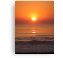 most Beautiful Sunset Ever Canvas Print