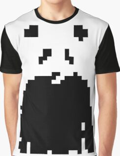 Pixel Panda Graphic T-Shirt