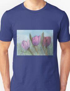 Three Tulips  T-Shirt