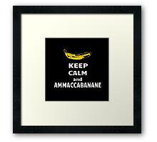 Ammaccabanane Framed Print