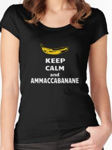 Ammaccabanane Women's Fitted Scoop T-Shirt