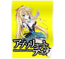 absolute duo lilth anime design  Poster