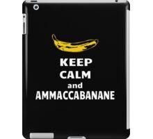 Ammaccabanane iPad Case/Skin