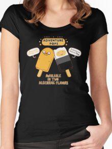 Adventure Pops Women's Fitted Scoop T-Shirt