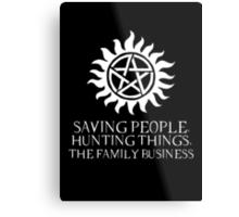 The Family Business II Metal Print