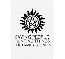 The Family Business Photographic Print