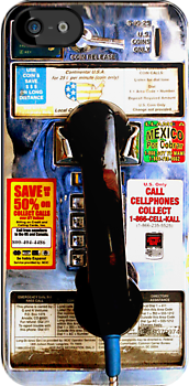 Public Payphone - iphone5, iphone 4 4s, iPhone 3Gs, iPod Touch 4g case by www. pointsalestore.com