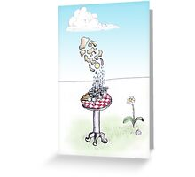 The Checkered Table Greeting Card