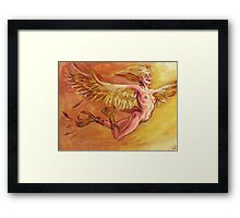 Harpy for a New Dawn Framed Print
