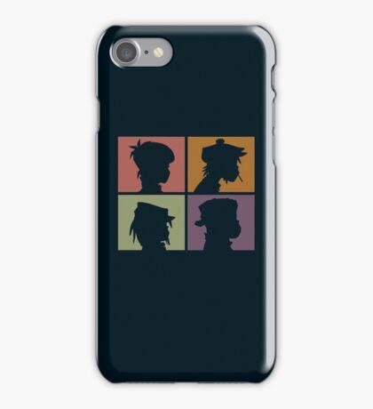 Gorillaz - Demon Days (Silhouette) iPhone Case/Skin