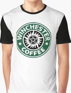Winchester Coffe Graphic T-Shirt