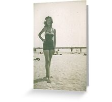 JoAnn Murphy at Long Beach California Greeting Card