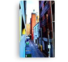 Denver Alley #2 Canvas Print