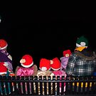 Family of Santa Hats` by Penny Rinker