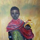 Masai Mom 1 by Marie Theron