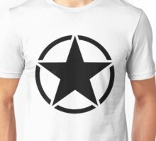 Military Invasion Star Unisex T-Shirt