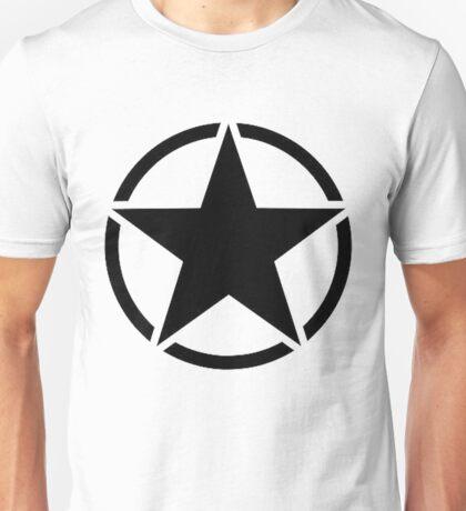 Military Invasion Star Unisex T-Shirt