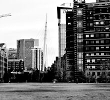 B&W From Park to LoDo by Jake Kauffman
