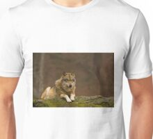 Wolf on look out Unisex T-Shirt