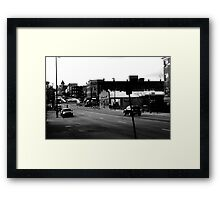 B&W DEC. 14th & 15th Framed Print