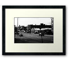 B&W DEC. 14th & 15th Framed Print