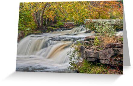 Shohola Falls by JHRphotoART