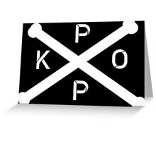 KPOP Greeting Card