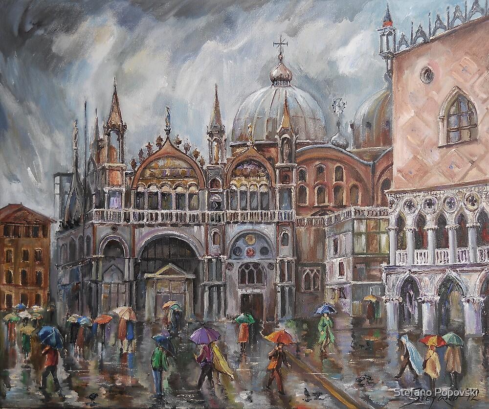 San Marco - Rainy Afternoon by Stefano Popovski