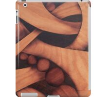 Abstract marquetry iPad Case/Skin