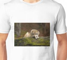 Wolf resting Unisex T-Shirt