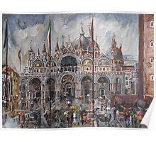 San Marco - Sudden Rain Poster