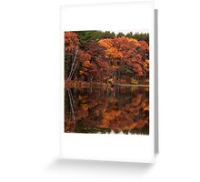 Autumn On the Point Greeting Card