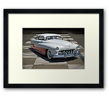 1951 Mercury Classic Custom Framed Print