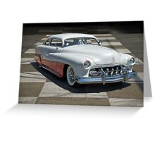 1951 Mercury Classic Custom Greeting Card