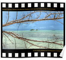 Nostalgia Collection • Islands of The Bahamas • Paradise on Earth near Coral Harbour Poster