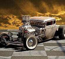 Rat Rod Coupe lll by DaveKoontz