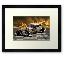 Rat Rod Coupe lll Framed Print