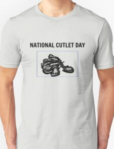 National Cutlet Day is an Institution T-Shirt